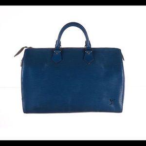 Louis Vuitton Speedy 35 Epi Leather
